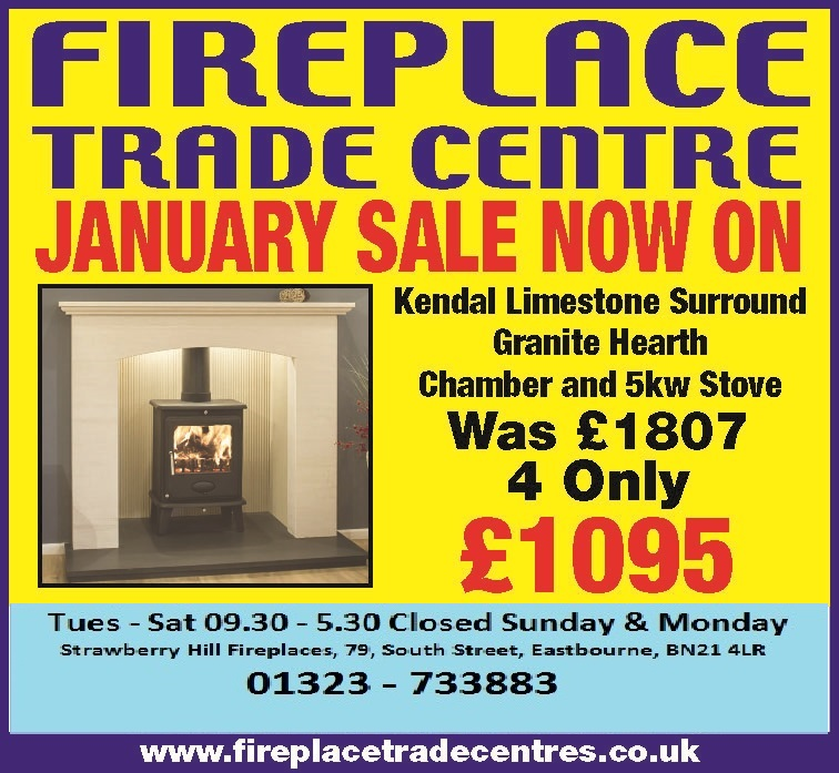 FIREPLACE TRADE EASTBOURNE 6X2 WK41